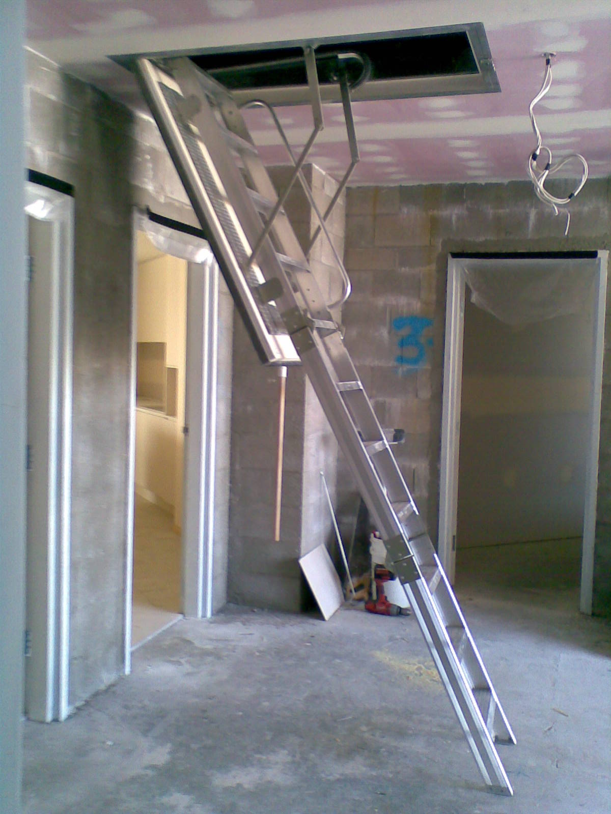 Fire Rated Aluminium Attic Ladders And Roof Access Stairs