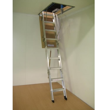 Commercial  sc 1 th 227 & Attic Ladders Roof Access Stairs Fall-Arrest Systems More